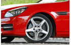 Mercedes SLK BlueEFFICIENCY, Felge, Vorderrad