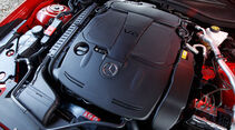 Mercedes SLK BlueEFFICIENCY, Motorraum, Motor