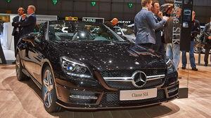 Mercedes SLK CarbonLook Edition, Genfer Autosalon, Messe, 2014