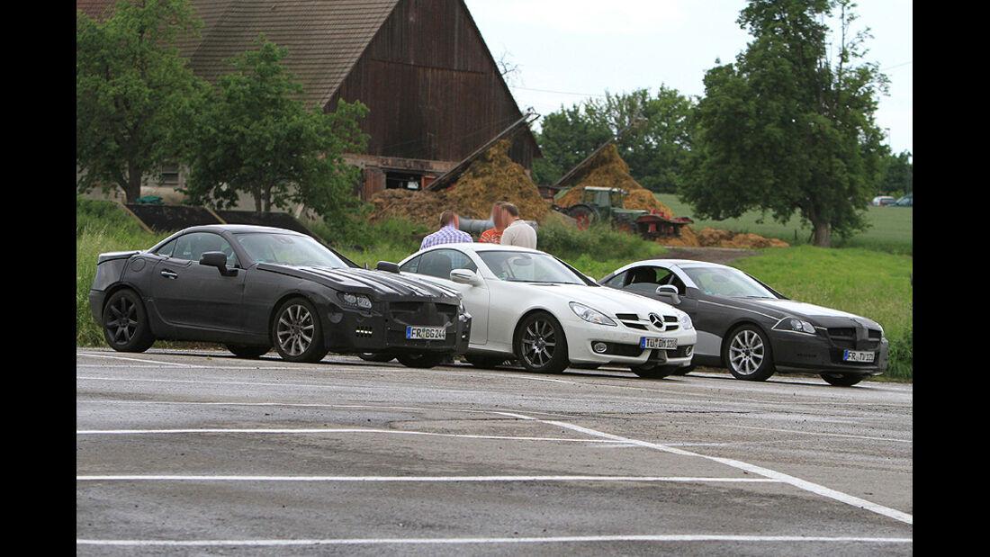 Mercedes SLK Erlkönig