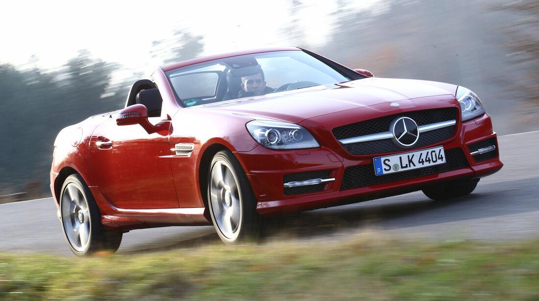 Mercedes SLK, Frontansicht