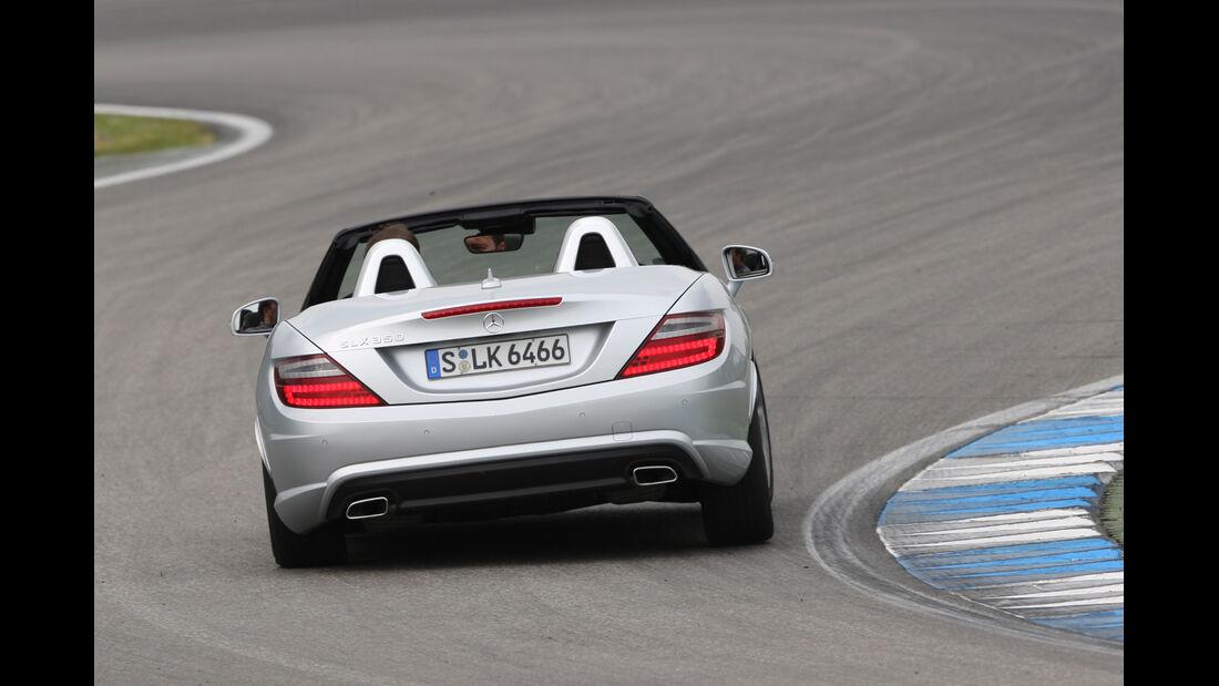 Mercedes SLK, Heckansicht