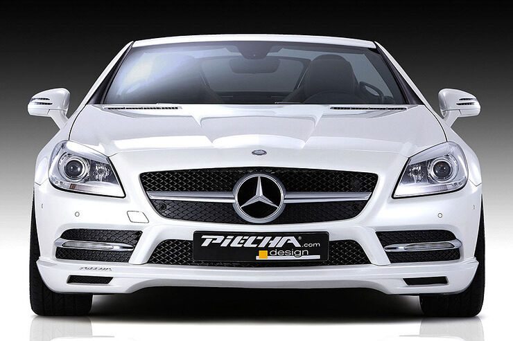 Mercedes SLK R172 Accurian RS, Front