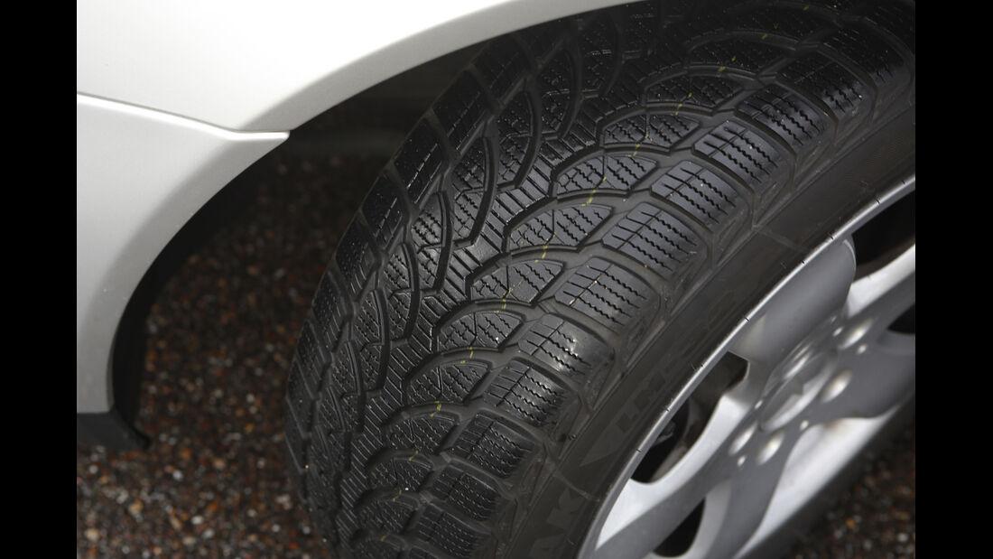 Mercedes SLK, Reifen
