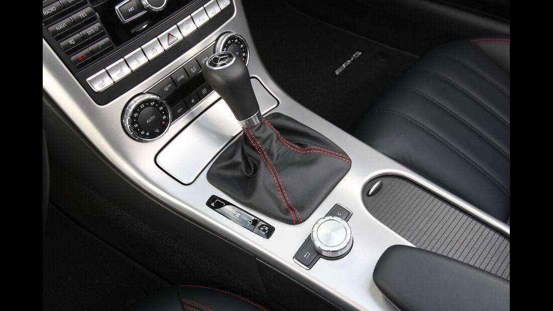 Mercedes SLK, Schalthebel, Gangschaltung