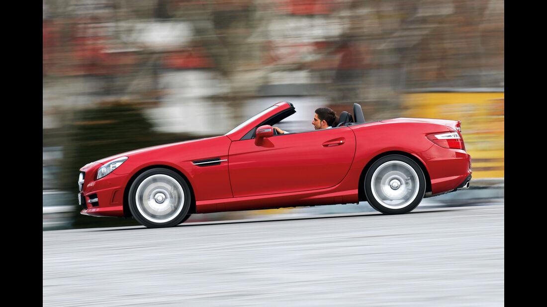 Mercedes SLK, Seitenansicht