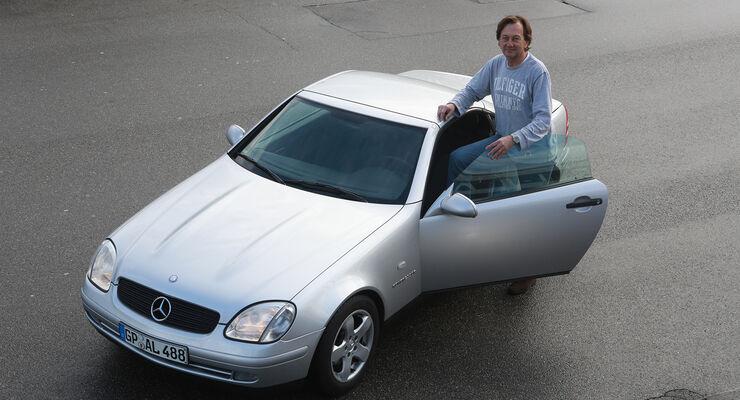 Mercedes SLK, Seitenansicht, Claus Mühlberger