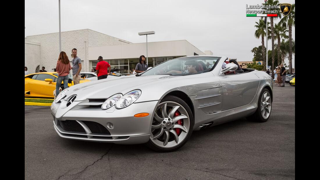 Mercedes SLR McLaren - 200 mph Supercarshow - Newport Beach - Juli 2016