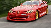Mercedes SLR McLaren 999 Red Gold Dream
