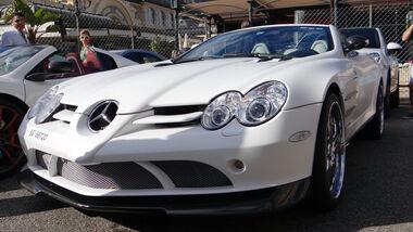 Mercedes SLR Roadster - Car Spotting - Formel 1 - GP Monaco - 24. Mai 2013