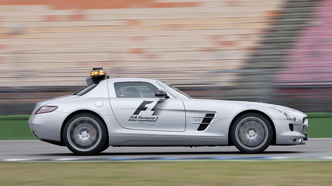 Mercedes SLS 63 AMG Safety Car