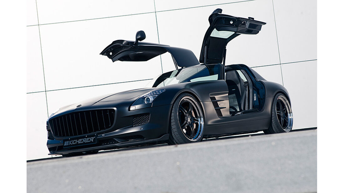 Mercedes SLS 63 Supersport GT von Kicherer, Front