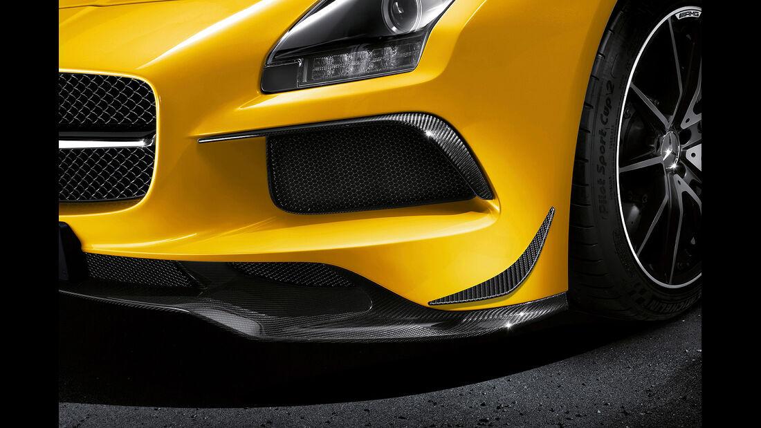 Mercedes SLS AMG Black Series, Carbon-Flics