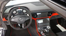 Mercedes SLS AMG Black Series, Cockpit