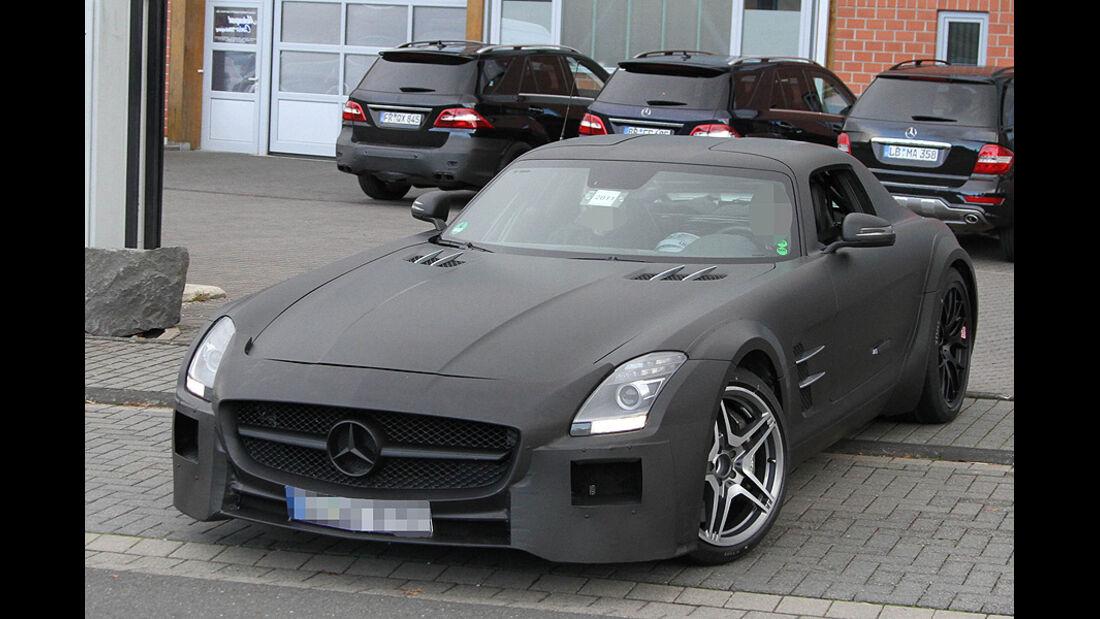 Mercedes SLS AMG Black Series Erlkönig