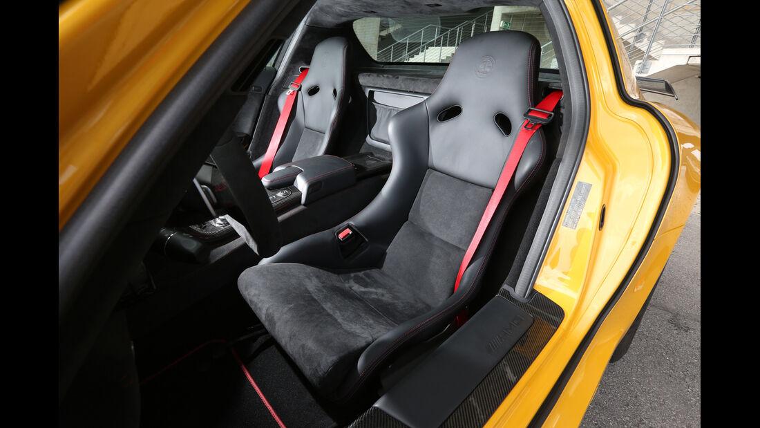 Mercedes SLS AMG Black Series, Fahrersitz