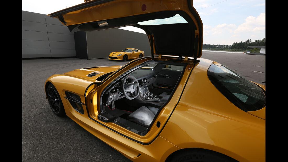Mercedes SLS AMG Black Series, Flügeltür