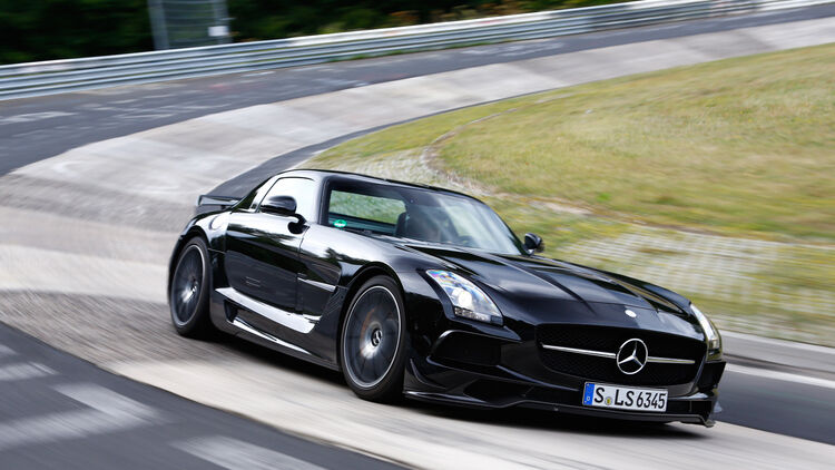 Sls Black Series >> Mercedes Sls Amg Black Series Im Supertest Die Legende Vom