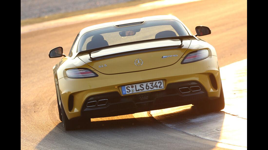 Mercedes SLS AMG Black Series, Heckansicht