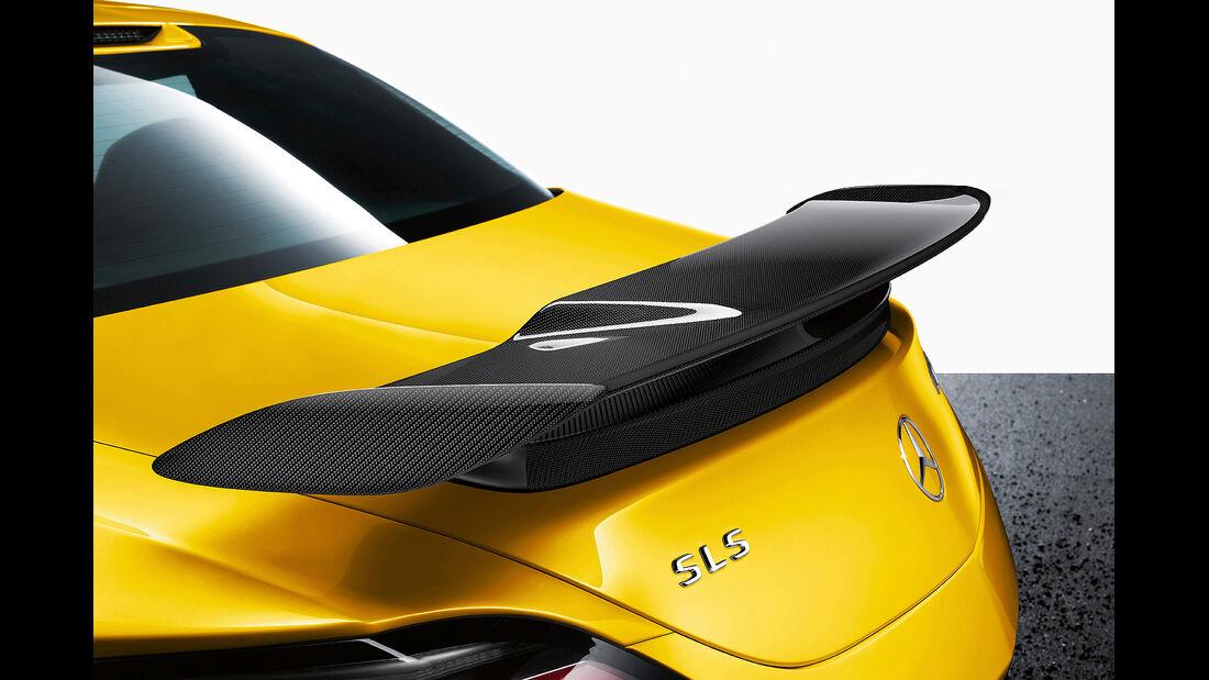 Mercedes SLS AMG Black Series, Heckflügel, Heckspoiler