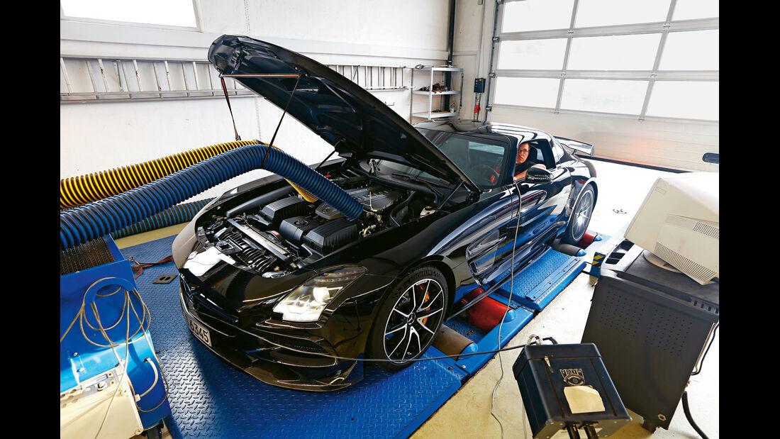 Mercedes SLS AMG Black Series, Leistungsmessung