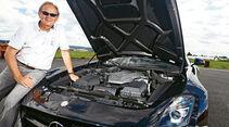 Mercedes SLS AMG Black Series, Motor, Horst von Saurma