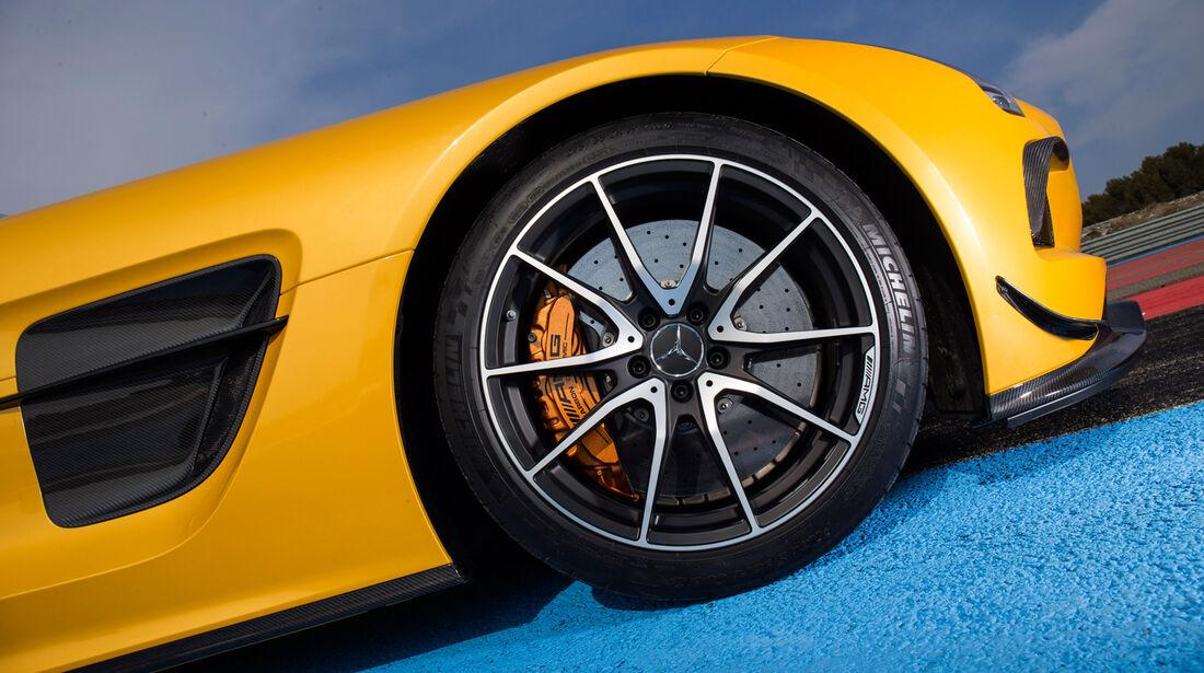 Mercedes SLS AMG Black Series, Rad, Felge