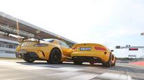 Mercedes SLS AMG Black Series, SRT Viper, Heckansicht
