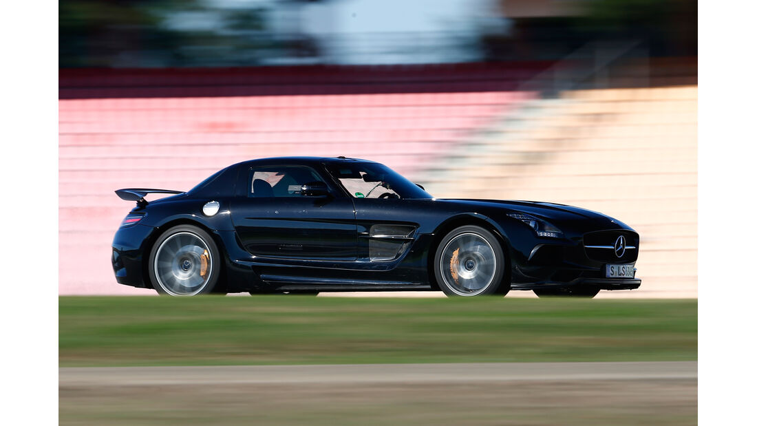 Mercedes SLS AMG Black Series, Seitenansicht