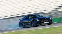 Mercedes SLS AMG Black Series, Seitenansicht, Driften