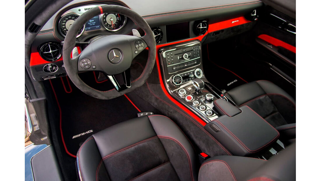 Mercedes SLS AMG Black Series - Sportwagen - Innenraum