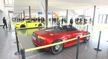 Mercedes SLS AMG E-Cell, Audi E-tron Spyder