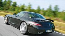 Mercedes SLS AMG E-Cell, Heckansicht