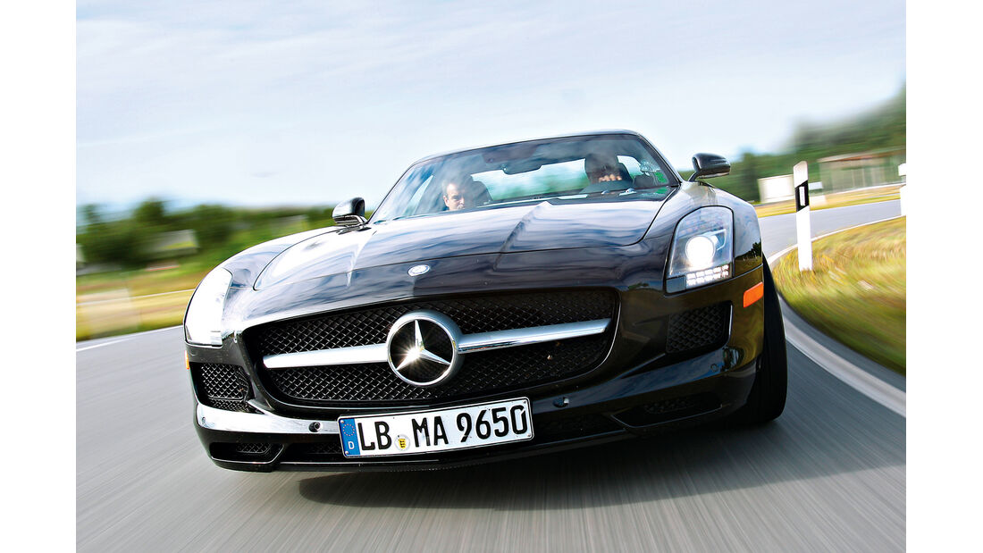 Mercedes SLS AMG E-Cell, Kühlergrill
