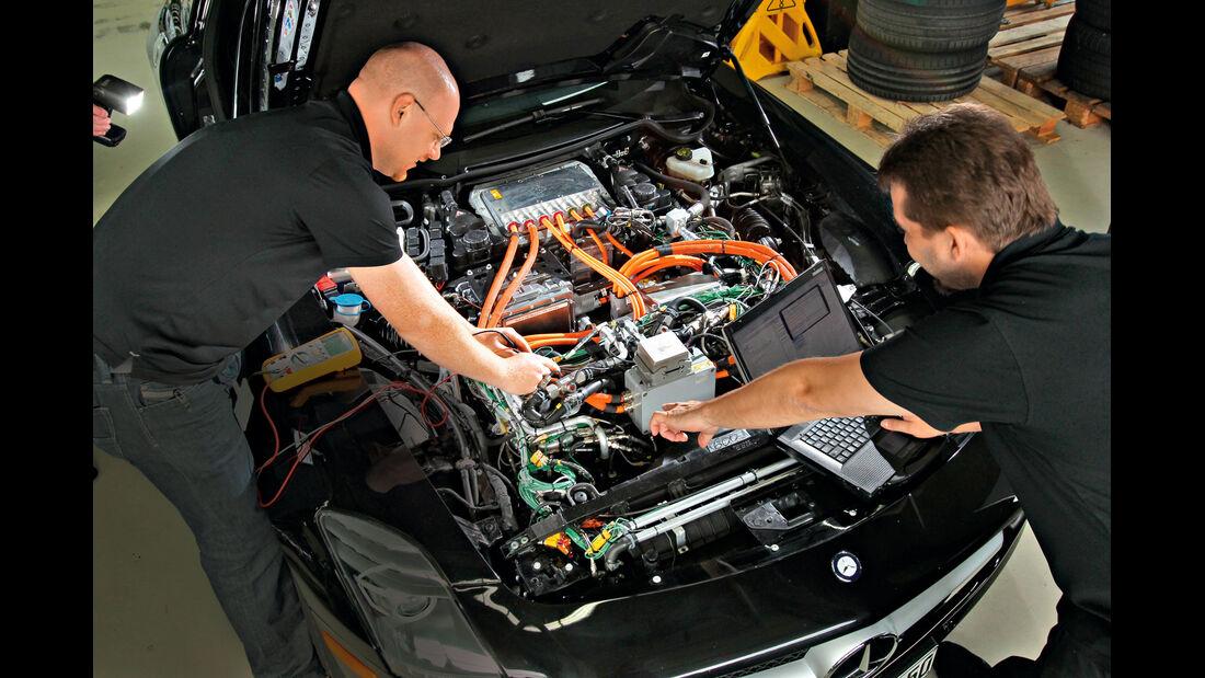 Mercedes SLS AMG E-Cell, Motor