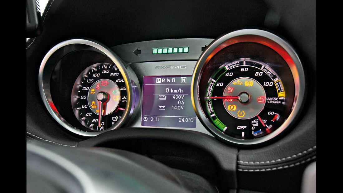 Mercedes SLS AMG E-Cell, Rundelemente