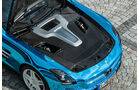 Mercedes SLS AMG Electric Drive, Motorraum