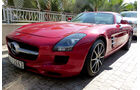 Mercedes SLS AMG - F1 Abu Dhabi 2014 - Carspotting