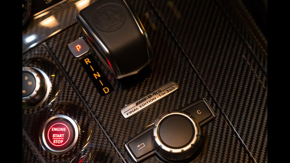 Mercedes SLS AMG GT Final Edition, Bedienelemente