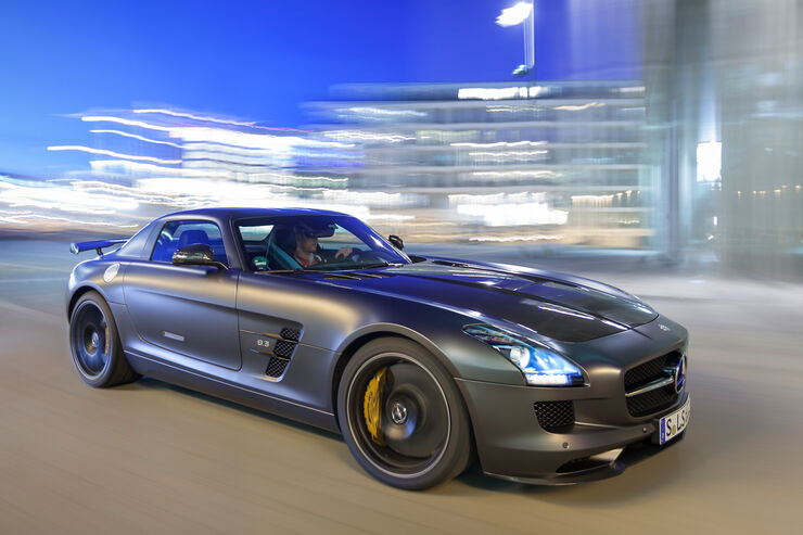 Mercedes SLS AMG GT Final Edition, Frontansicht