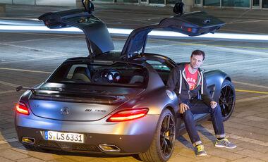 Mercedes SLS AMG GT Final Edition, Heckansicht, Alexander Bloch