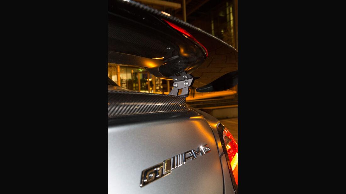 Mercedes SLS AMG GT Final Edition, Heckflügel, Typenbezeichnung