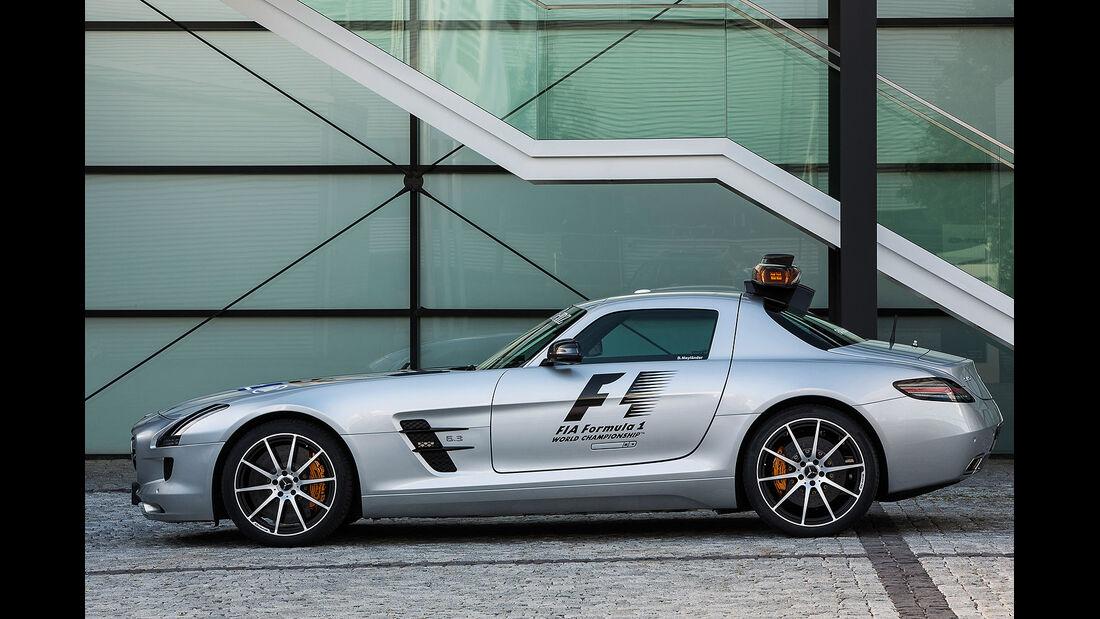 Mercedes SLS AMG GT Formel 1 Safety Car