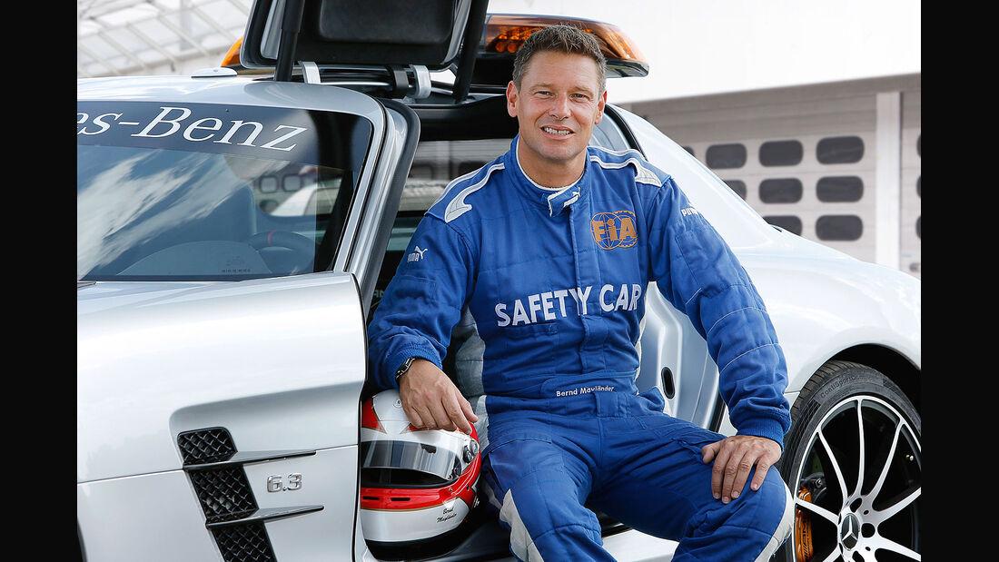 Mercedes SLS AMG GT Formel 1 Safety Car, Bernd Mayländer