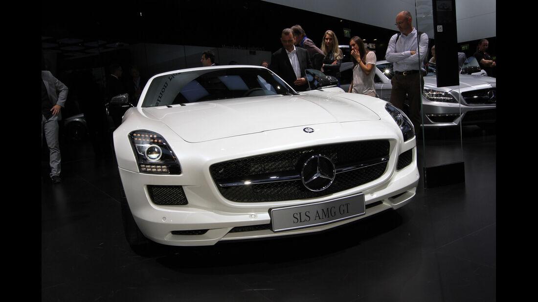 Mercedes SLS AMG GT Roadster, Messe, Autosalon Paris 2012