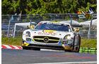 Mercedes SLS AMG GT - Rowe Racing - Impressionen - 24h-Rennen Nürburgring 2014 - #2 - Qualifikation 1