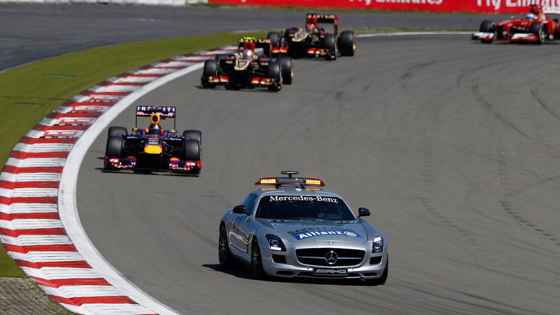 Mercedes SLS AMG GT - Safety Car - GP Deutschland 2013 - Nürburgring