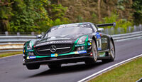 Mercedes SLS AMG GT3 - Black Falcon - 24h-Rennen Nürburgring 2014 - Top-30-Qualifying