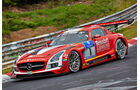 Mercedes SLS AMG GT3 - Black Falcon - Startnummer: #1 - Bewerber/Fahrer: Jeroen Bleekemolen, Andreas Simonsen, Christian Menzel, Lance David Arnold - Klasse: SP9 GT3