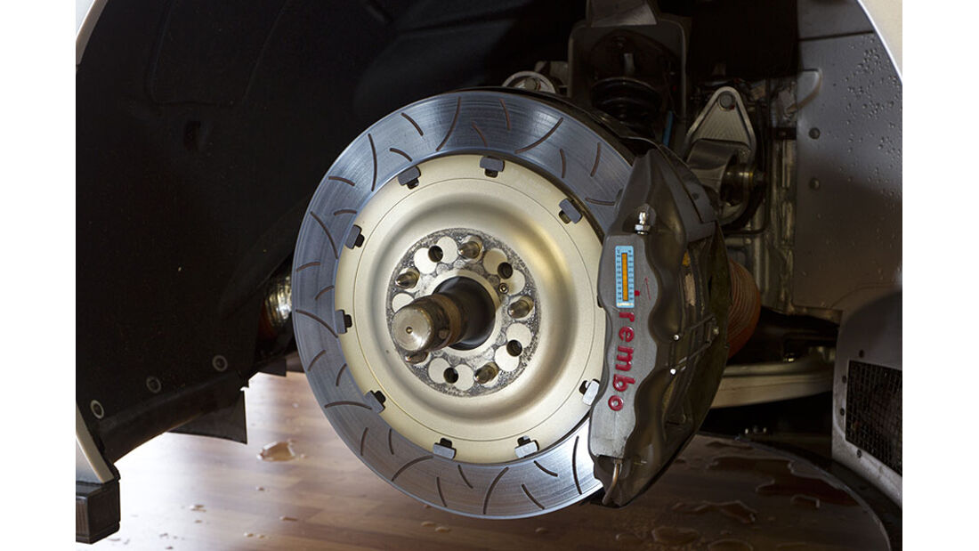 Mercedes SLS AMG GT3 Bremse